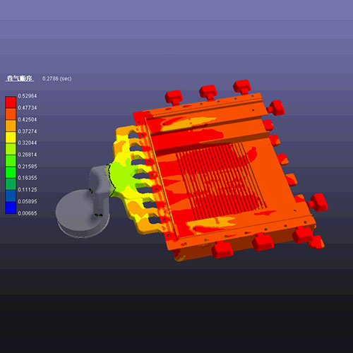 3. Mold Flow Simulation